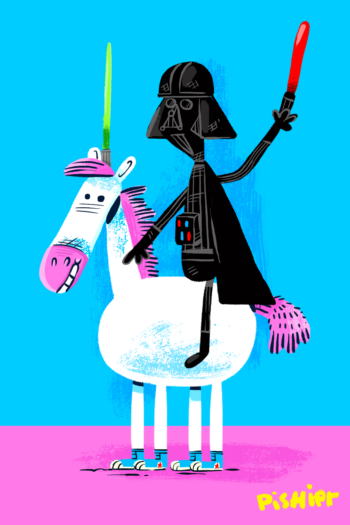 darth unicorn