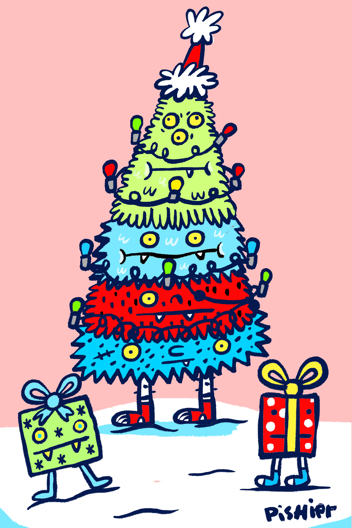 christmas monster 2